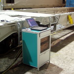 Railway mobile testing bench HAKAN